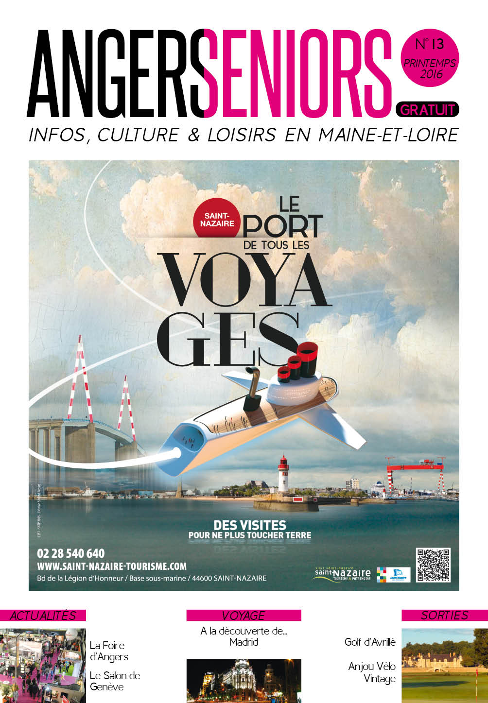 Angers Seniors - Printemps 2016