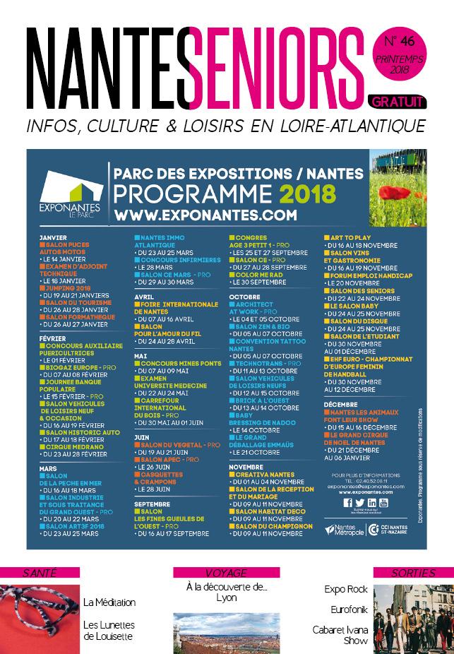 Nantes Seniors - Printemps 2018