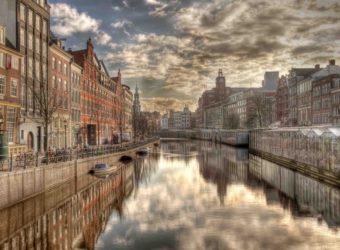 à la découverte  d'Amsterdam