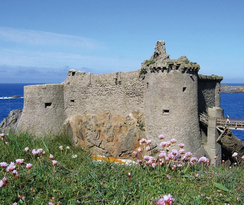 Vieux château en ruine - Ile d'Yeu