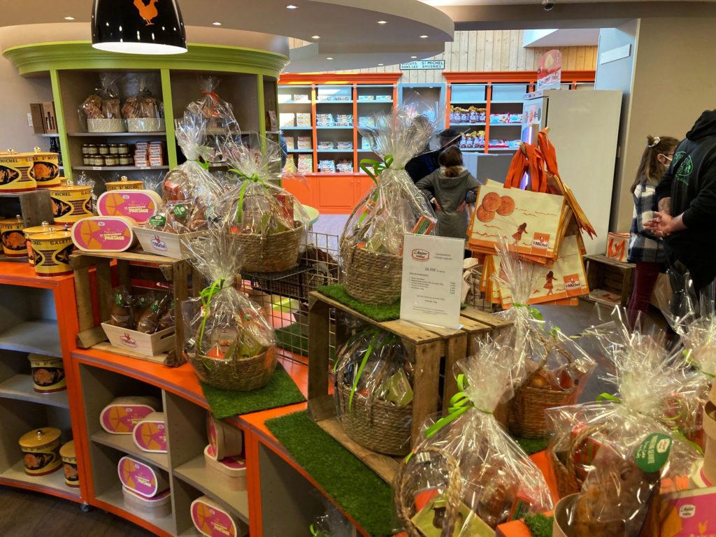 Intérieur Boutique St Michel