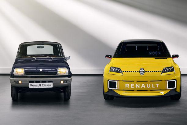 Prototypes Renault 5