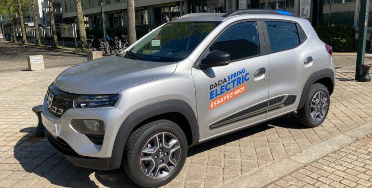 Dacia Spring - Avant