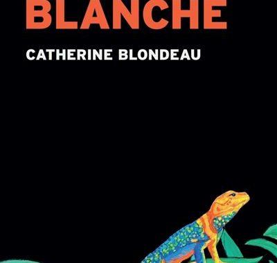 """1ère de couverture """"Blanche"""" de Catherine Blondeau"""