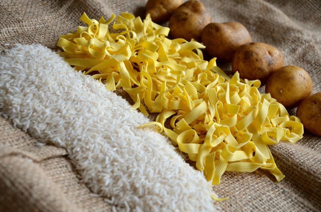 Féculents (riz, pâtes)