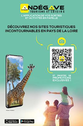 Application Andegave Tourisme & Loisirs
